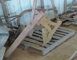 Pair of Horse Drawn Plows