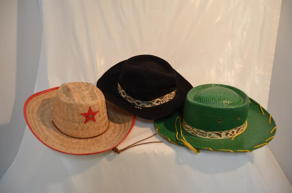 Lot 21 of 169  3 Hats - Roy Rogers   Dale Evans 12b0f616924
