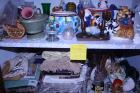 Candle holders, figurines, vases,