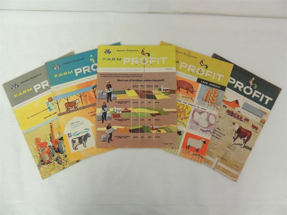 5)-Massey-Ferguson Farm Profit magazines