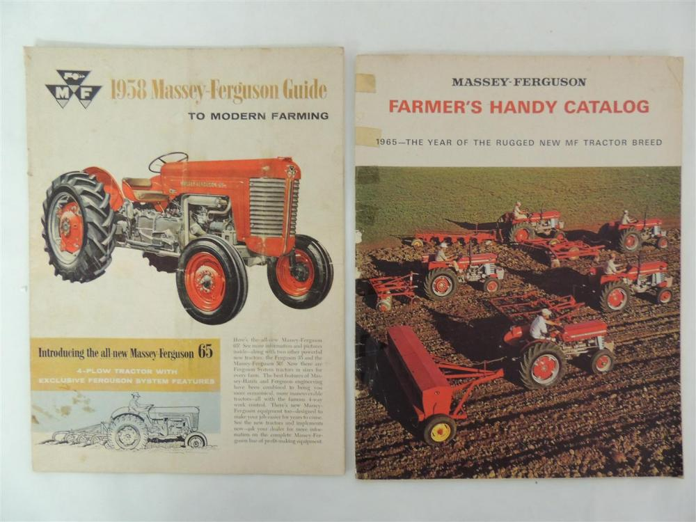 2)-Massey-Ferguson Handy Catalogs