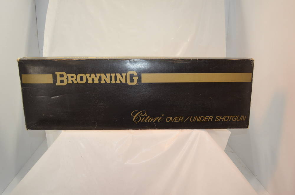 Browning Citori Over/Under 12 Gauge in Box