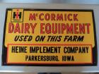 McCormick International Harvestor SST Sign