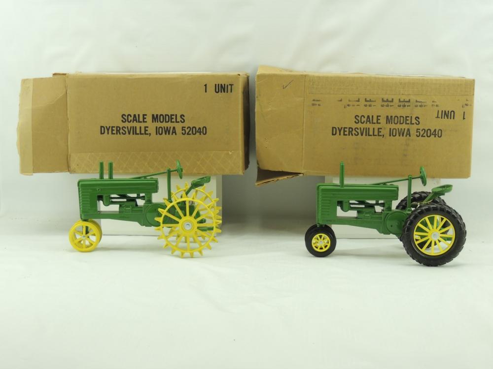 1/16th Scale Models John Deere Model A & B