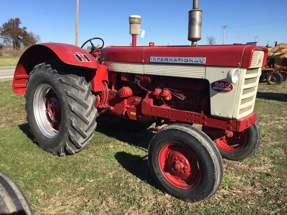 Lot 168 Of 231 International 560 Standard Wheatland Tractor