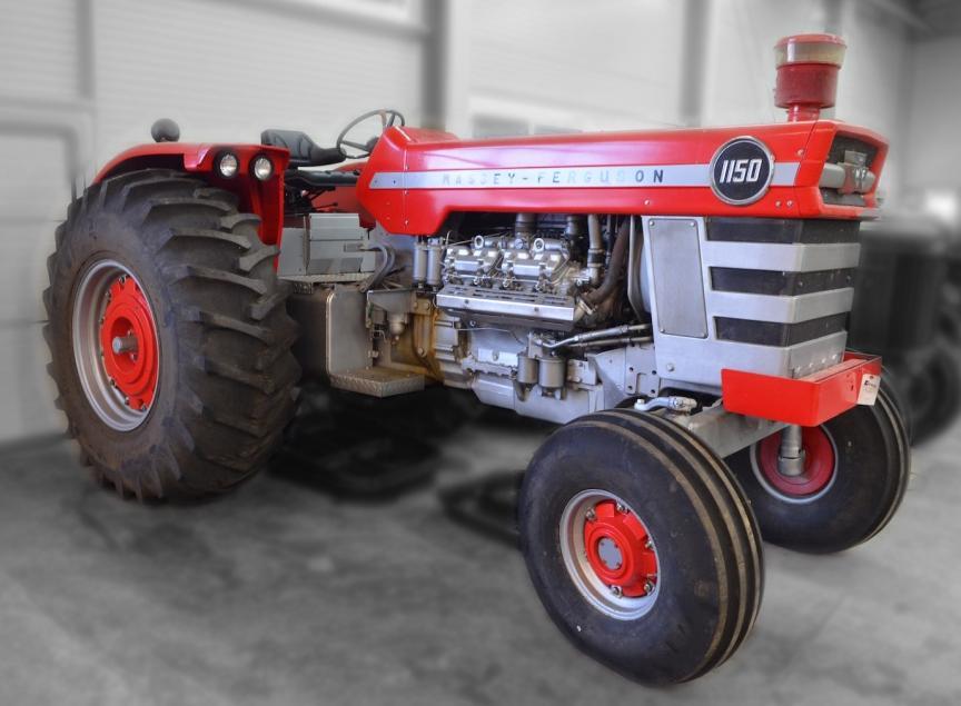 Massey Ferguson Model 1150 Tractor