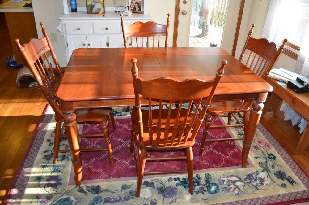 Lot 224 Of 411 Richardson Brothers Company Chairs Table