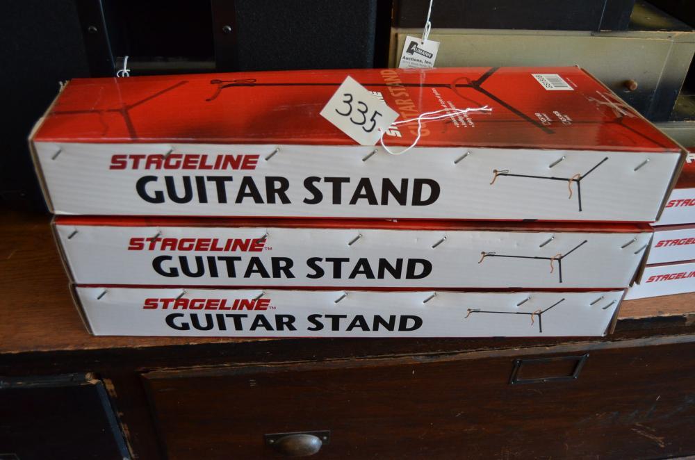 3 Stageline Guitar Stands