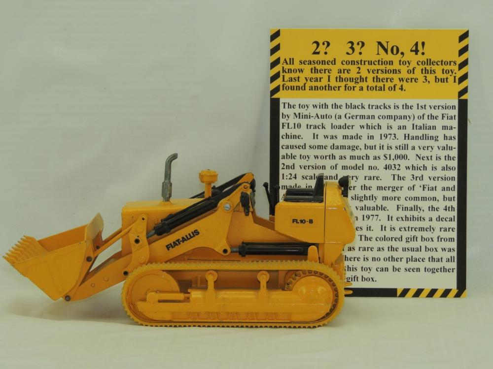 lot 581 24th mini auto w germany fiat allis fl 10 b auctions aumann auctions