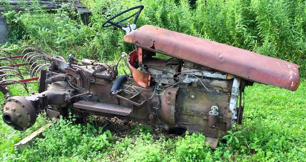 Lot 171 Of 301 Massey Ferguson 65 Diesel Hi Clearance Parts Tractor NEW PICTURES ADDED