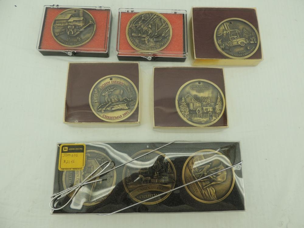 John Deere (6)-Limited Edition Christmas ornament items