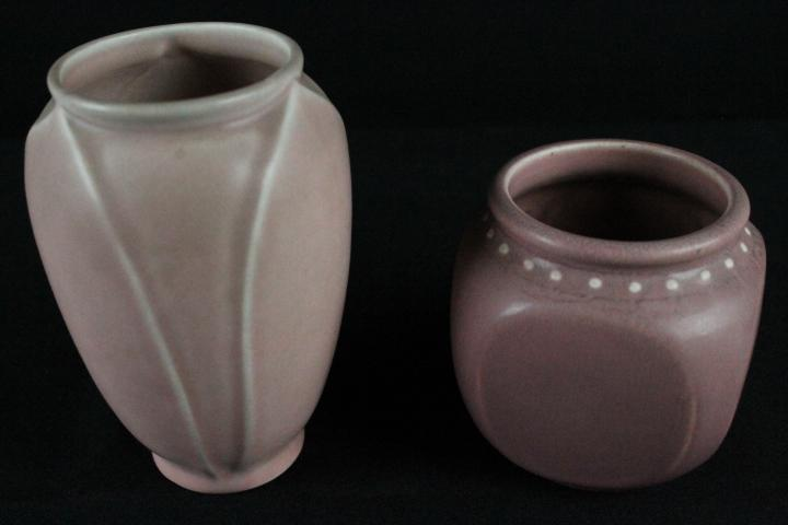 2 Rookwood Vases