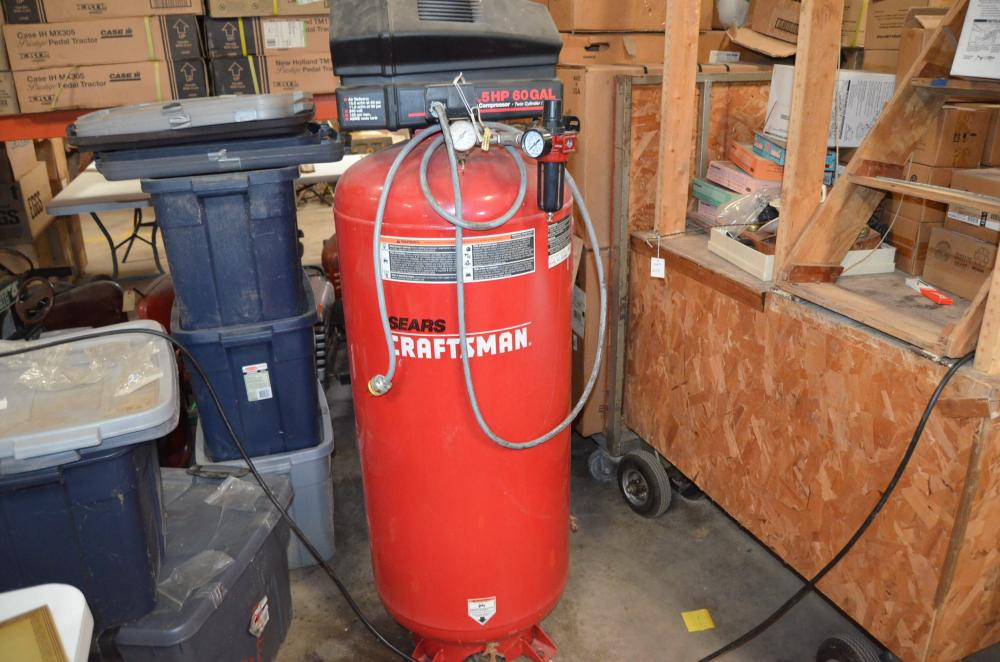 sears craftsman 6 5 hp 60 gallon air compressor