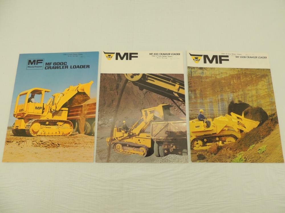 Massey Ferguson (3)-Crawler Loader sales brochures