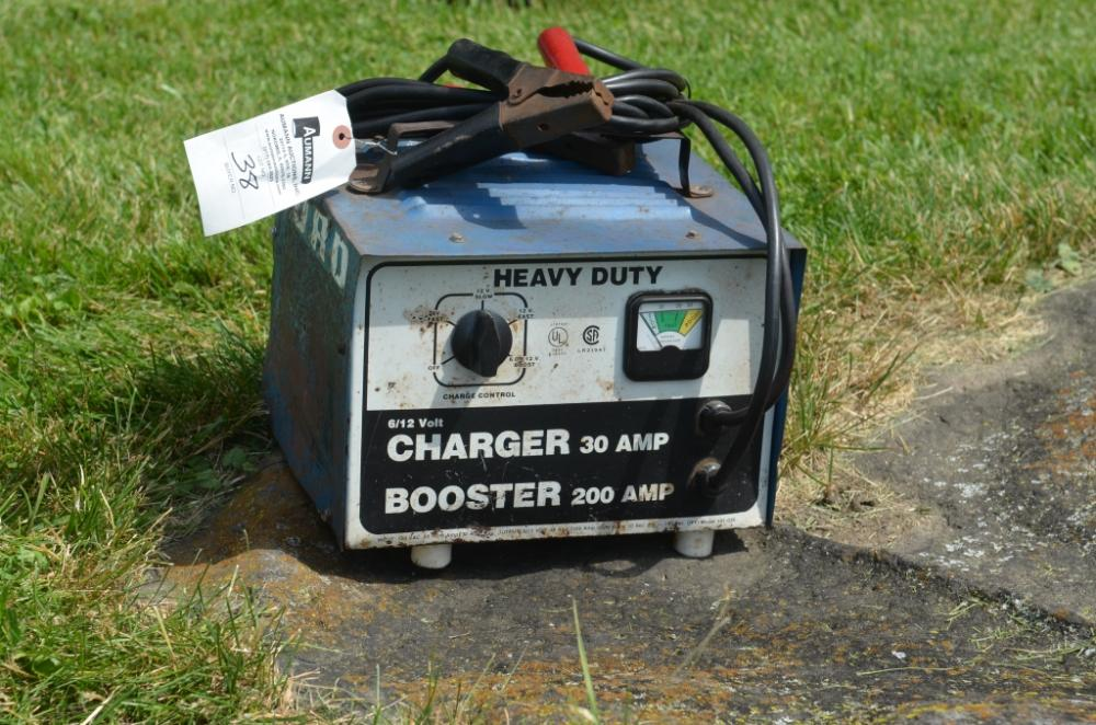 Lot 38 Of 281 Ford 6 12 Volt Battery Charger