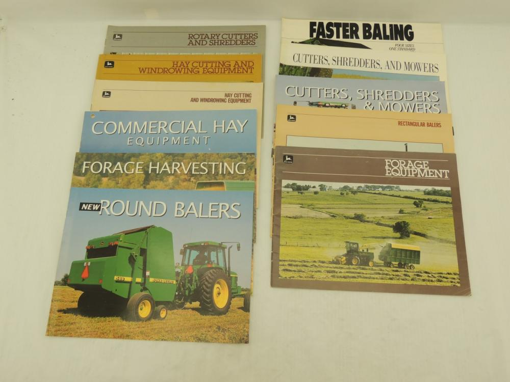John Deere Haying and Forage Implements (11)-sales booklets