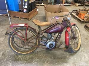 Early Simplex Light Duty Motor Cycle