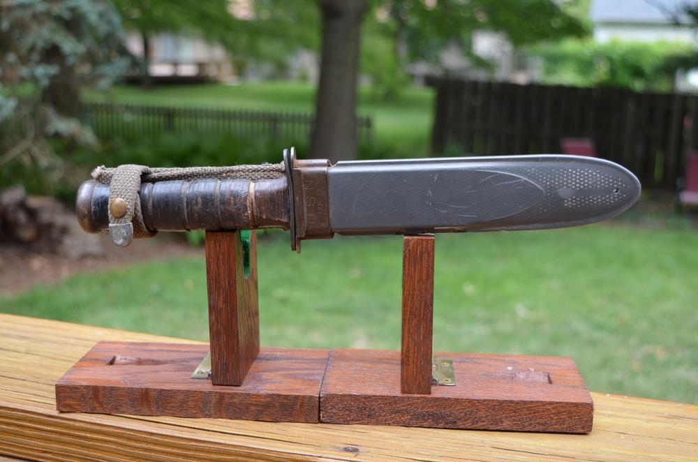 USN MK2 KA-BAR WW2 Fighting Knife