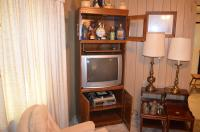 Entertainment Center and Electronics
