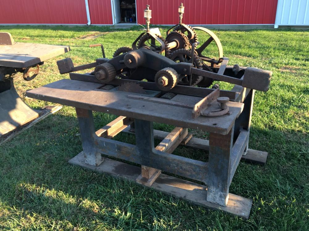 Hall & Brown Belt Powered Table Saw