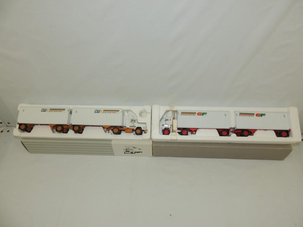 1/53rd Tonkin Replicas Ford/Freightliner (2)-single axle