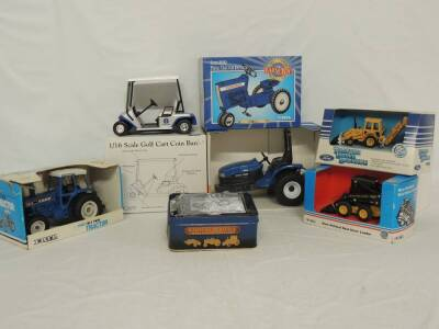 Various Scales Ertl/Scale Models/Spec Cast Ford/New Holland (7)-items