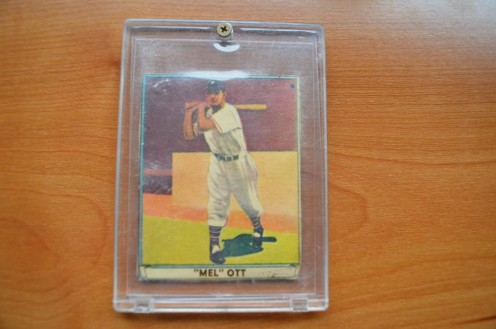1941 Mel Ott Baseball Card