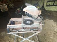 "Chicago Electric 2.5 HP 10"" industrial tile/brick saw"