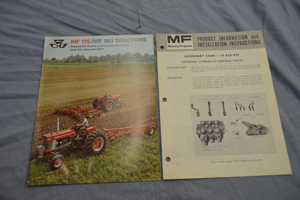 Massey Ferguson 175-180 brochure