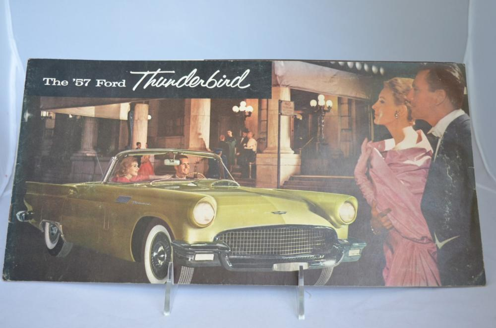 1957 FORD THUNDERBIRD  SALES BROCHURE