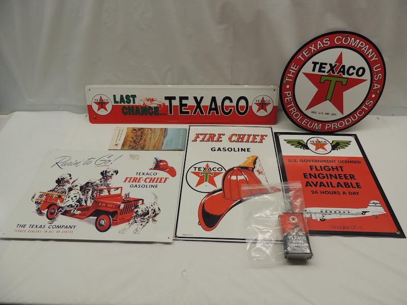 Texaco memorabilia lot (7)-items