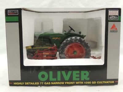 1/16th Spec Cast Oliver 77 Gas narrow front