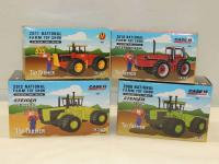 1/64th Ertl Various Makes (4)-Toy Farmer articulated 4WD