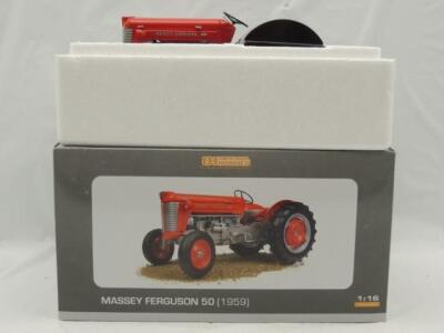 1/16th Universal Hobbies 1959 Massey Ferguson 50